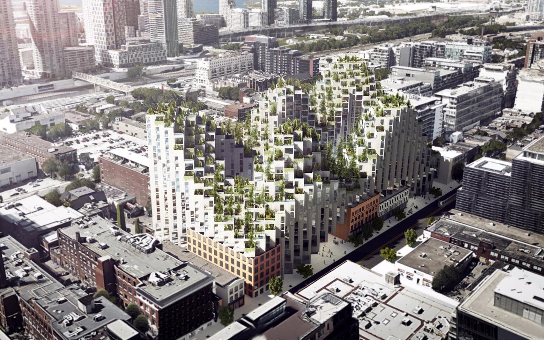 "King Street West was originally called ""Habitat 2.0,"" after Moshe Safdie's Habitat 67"