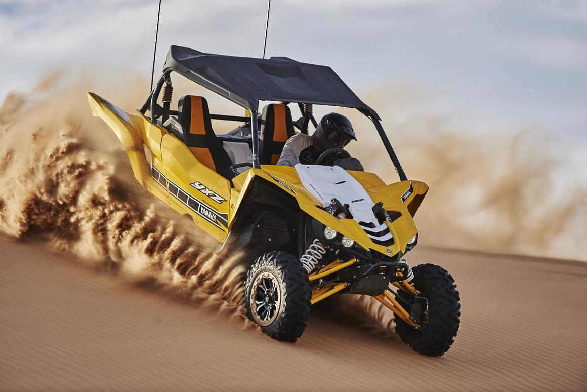 Yamaha YXZ1000R adds supersport performance to Side-by-Side