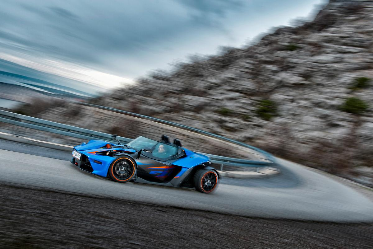 The KTM X-Bow GT – one of the most spartan automobiles sold for use on public roads is going to be significantly more comfortable in its new form.