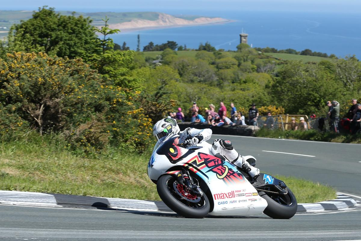 John McGuinness dominated the 2015 TT Zero Challenge
