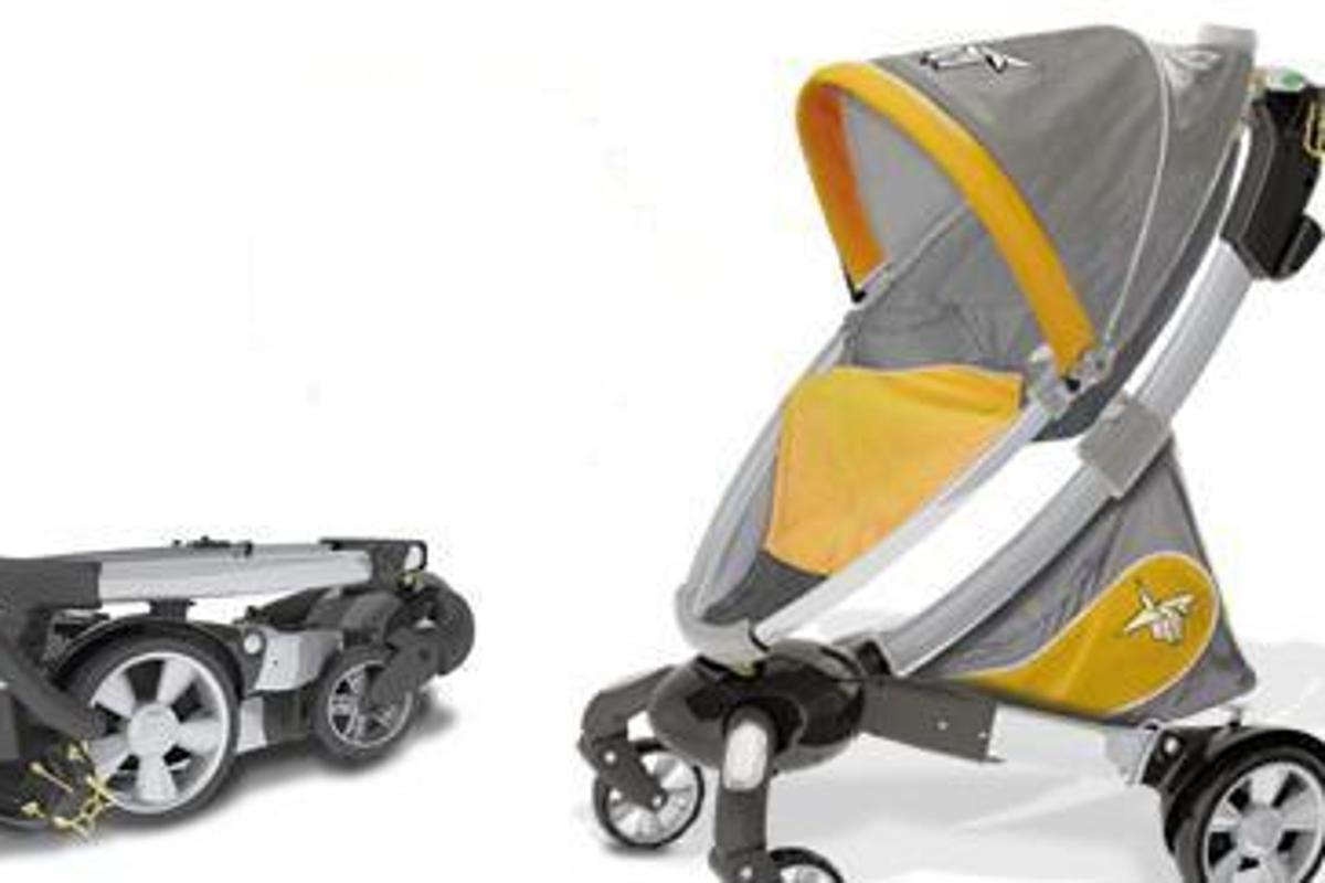 4moms origami Kinderwagen, elektrischer Buggy automatisch ... | 800x1200