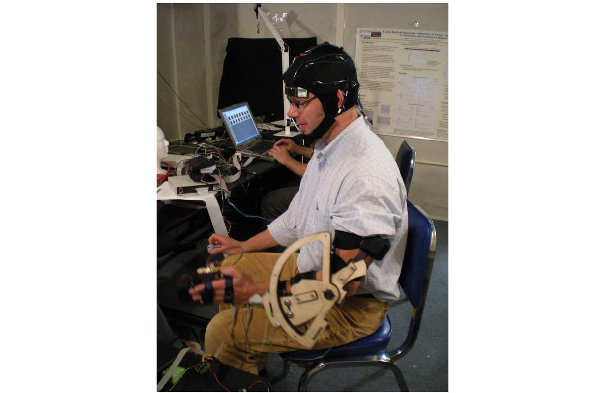 Researchers decoded brain signals recorded from non-invasive sensors around the scalps of volunteers and then reconstructed 3D hand movements