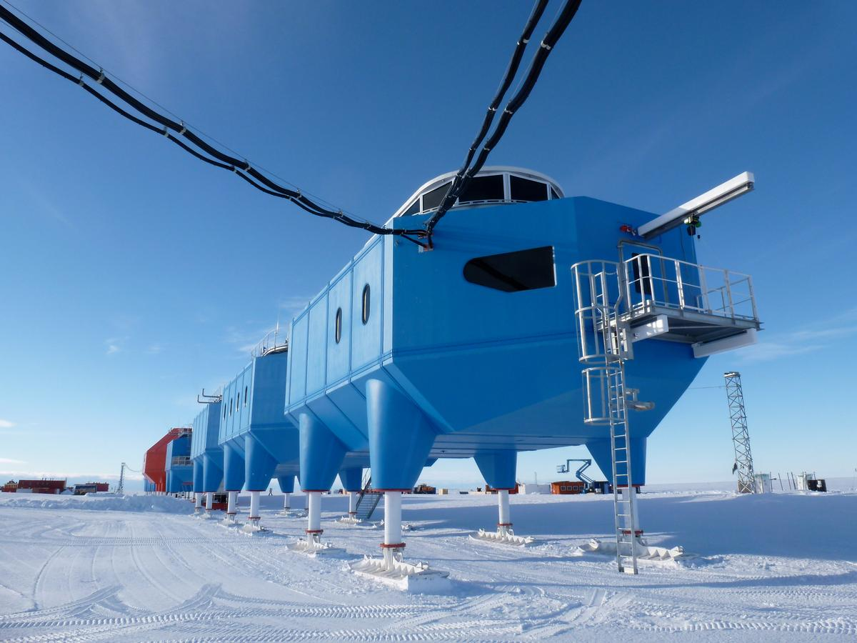 Halley VI, Britain's latest and greatest Antarctic Research Station, has opened and will become fully operational over the coming weeks