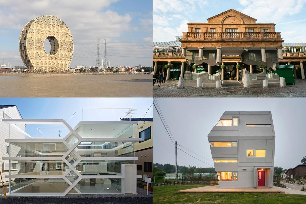 Outstanding architectural oddities from around the world