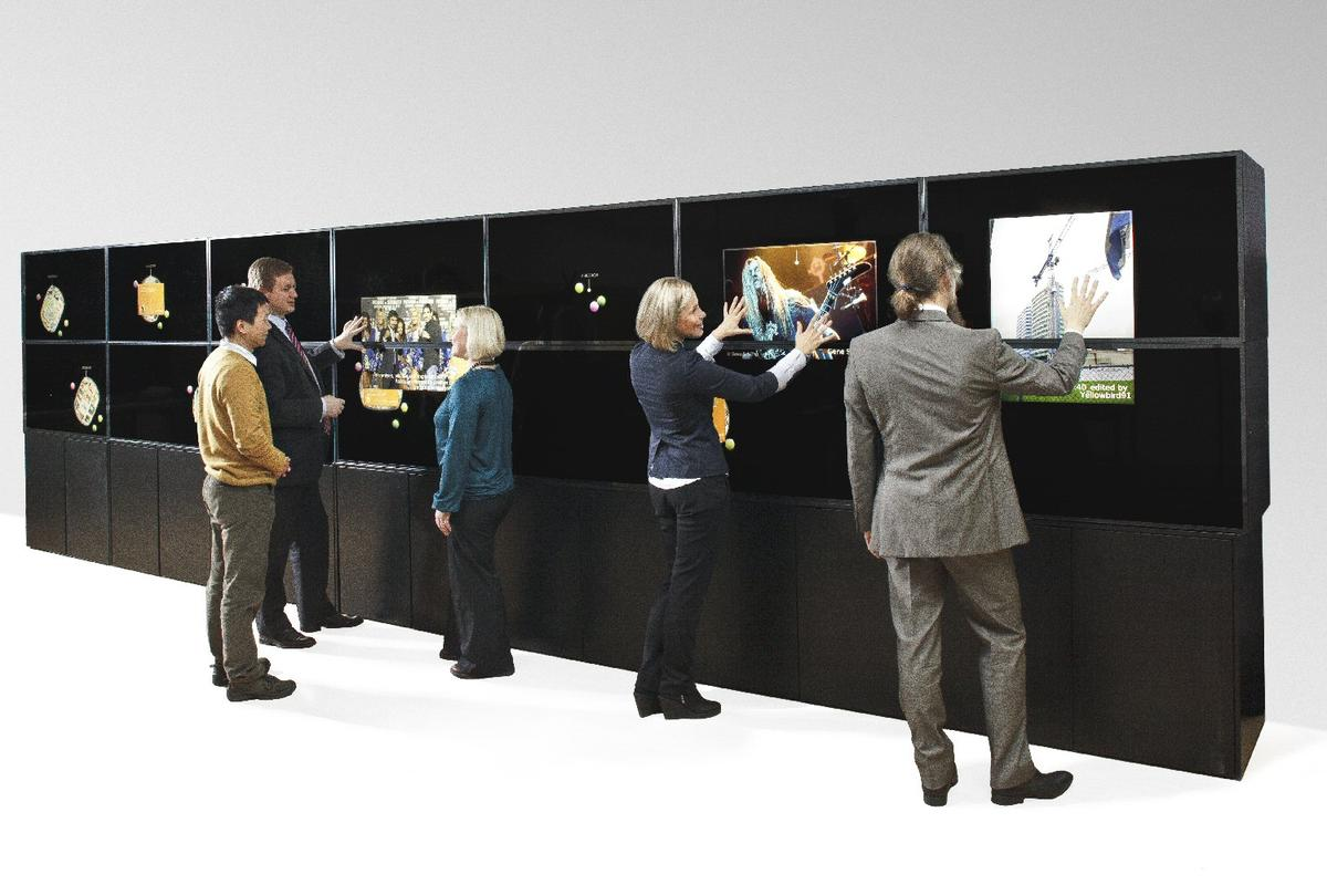 Visitors to CES 2011 will be able to interact with a huge multi-touch Twitter Wall that will display selected Tweets in real-time, along with photos and video