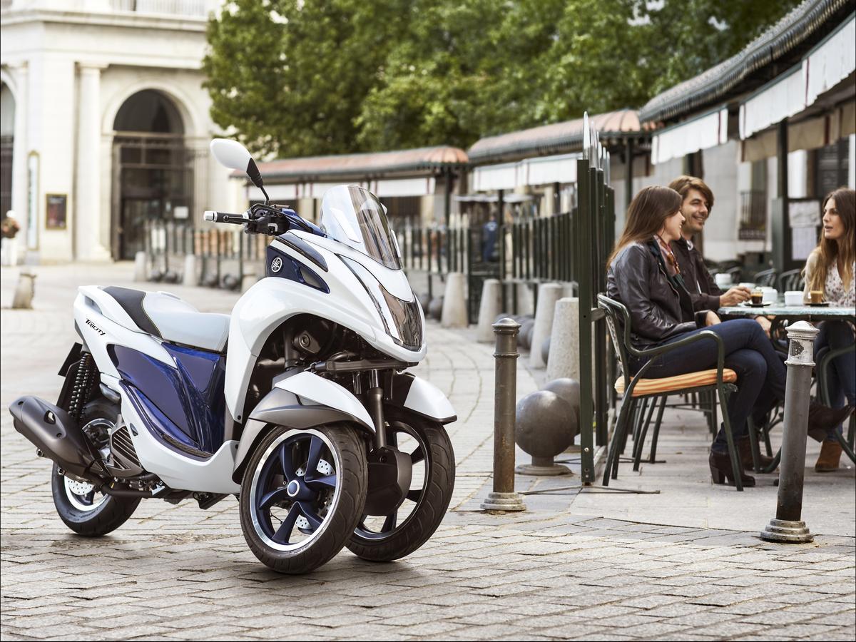 Yamaha's Tricity 3-wheeler