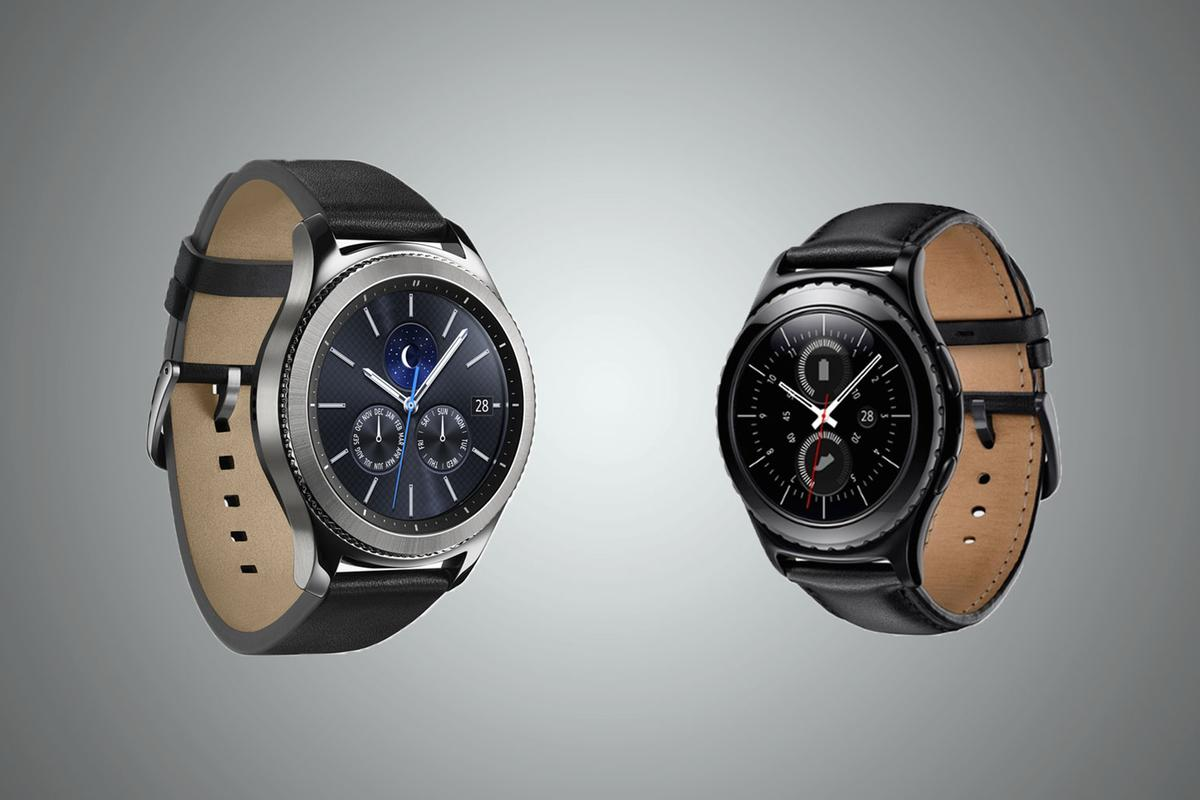 Comparing the 2016 Samsung Gear S3 watches with the 2015 Gear S2 watches