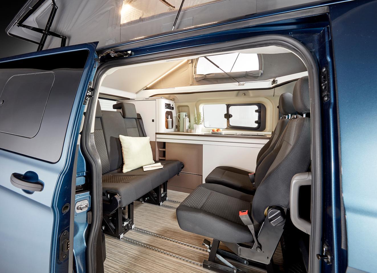 , [:en]Bürstner makes Ford van a versatile mini-camper multitool[:], Laban Juan