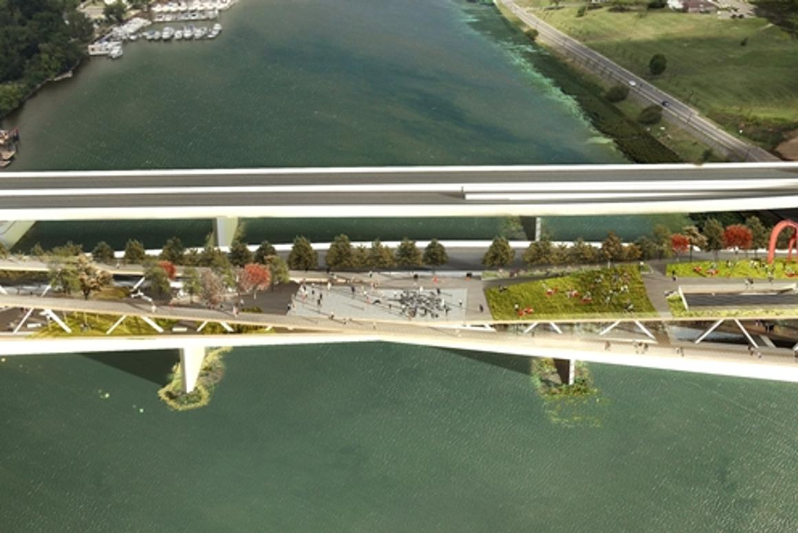 OMA and OLIN's design for the 11th Street Bridge Park in Washington has been selected as the competition winner