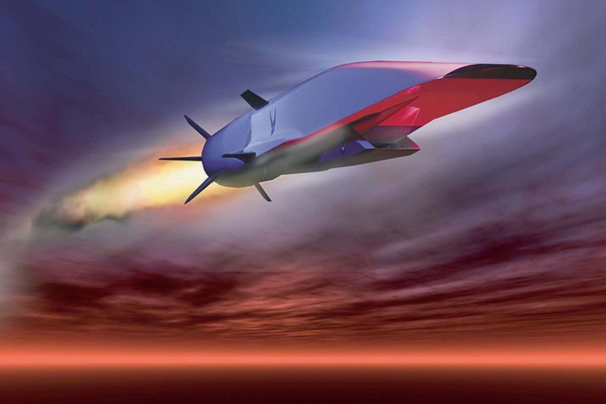 U.S. Air Force graphic of the record breakingX-51A Waverider