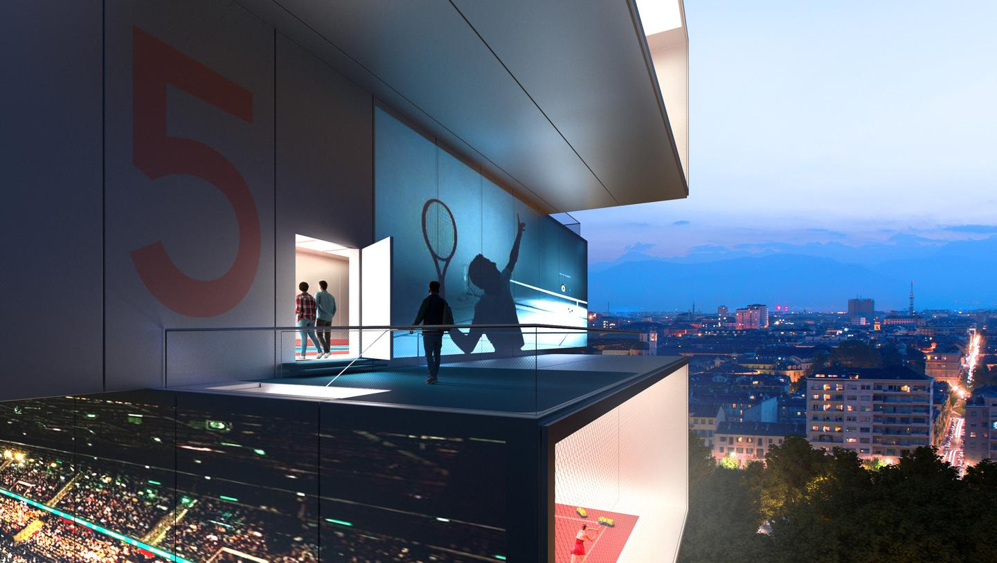 Playscraper would offer a total of 5,500 sq m (roughly 60,000 sq ft) of playing space inside