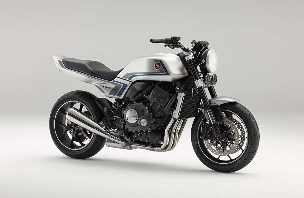 """Honda has presented another retro concept at its """"Virtual Motorcycle Show"""" booth"""