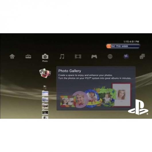 PlayStation 3 Photo Gallery