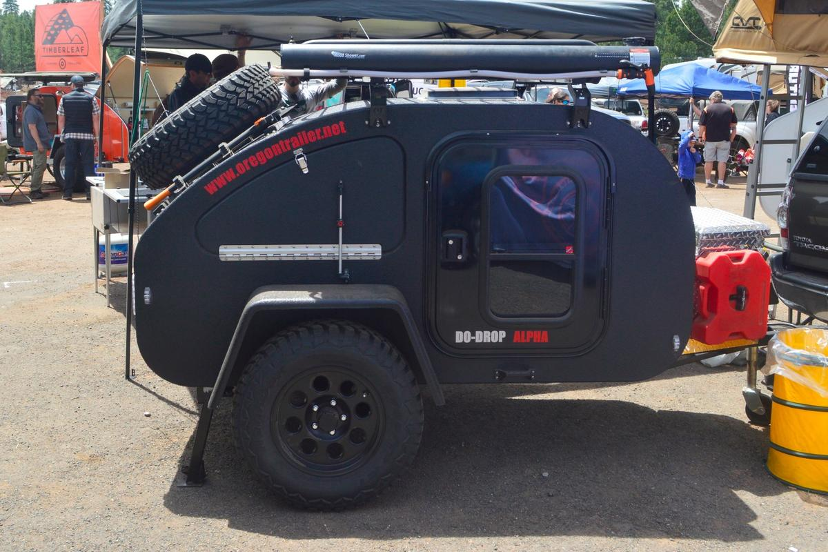 Oregon Trail'R shows the Do-Drop Alpha at Overland Expo West 2017