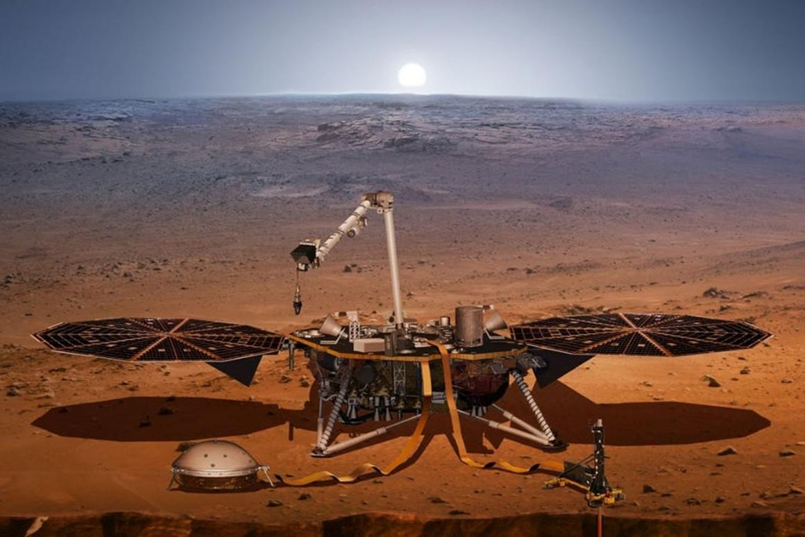 Less than a week has passed since NASA's Insight spacecraft settled into its dusty landing site on the surface of Mars, but the intrepid science laboratory is already breaking new ground