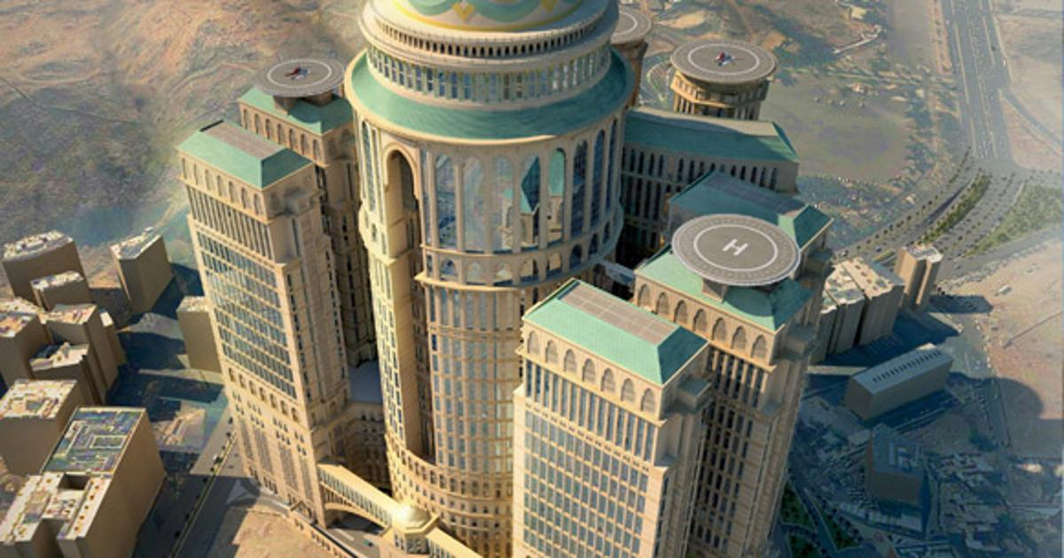 World's largest hotel proposed for Mecca