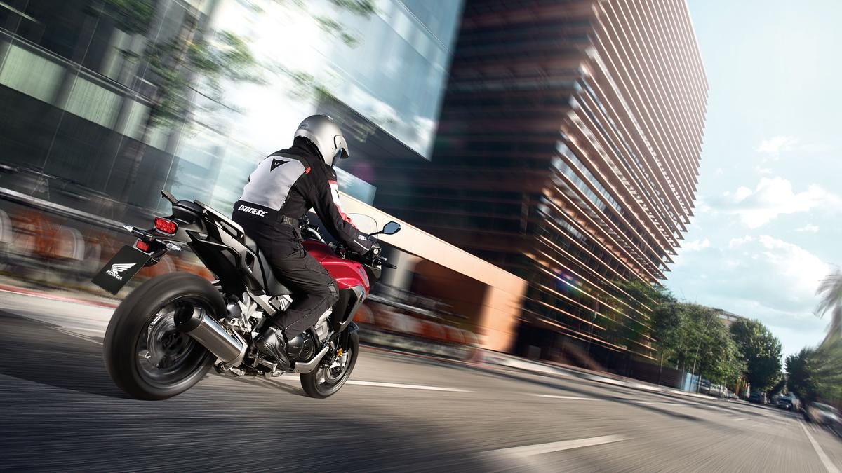 The 2015 VFR800X Crossrunner has a new exhaust system