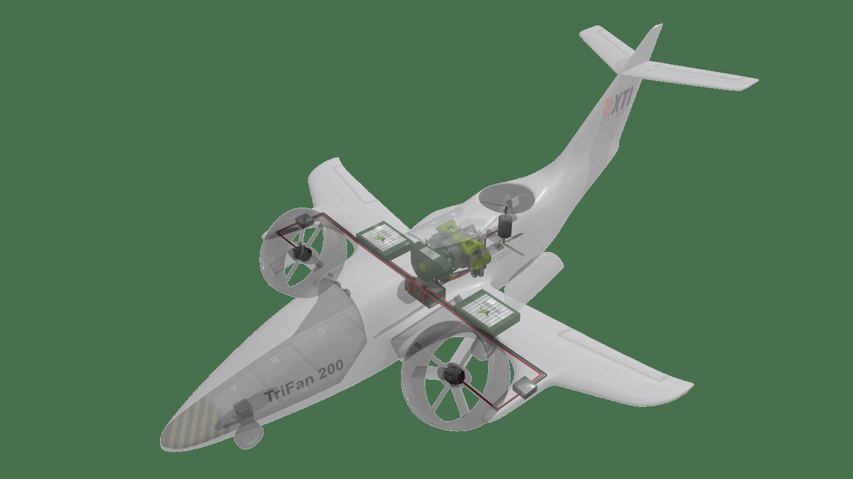 هواپیمای XTI TriFan یک eVTOL بدون سرنشین باری و مسافربری هواپیما باری
