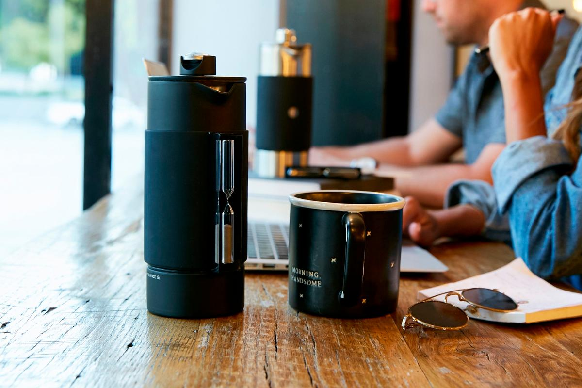 The Rite Press brings afew small improvements to a classic coffee brewing device