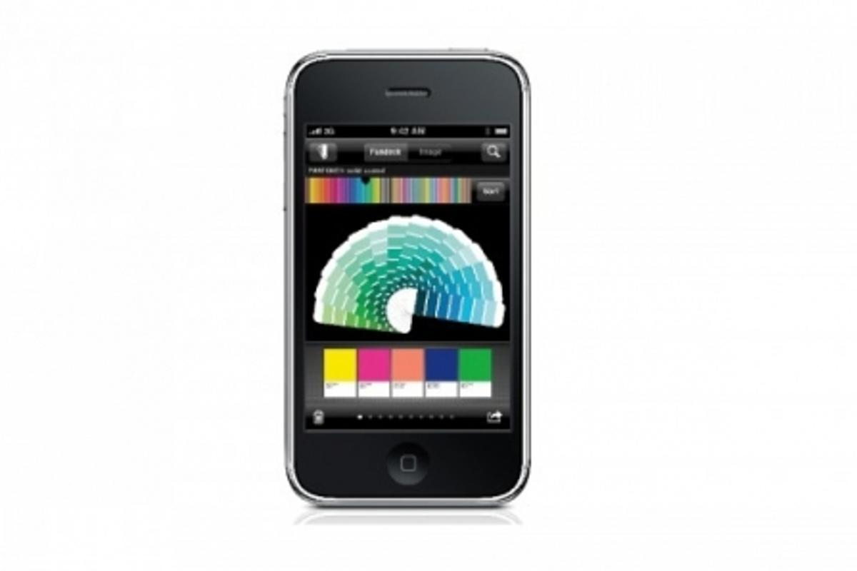 myPANTONE App keeps designers in reach of all Pantone Palettes via their iPhone or iPod Touch (Photo: Business Wire)