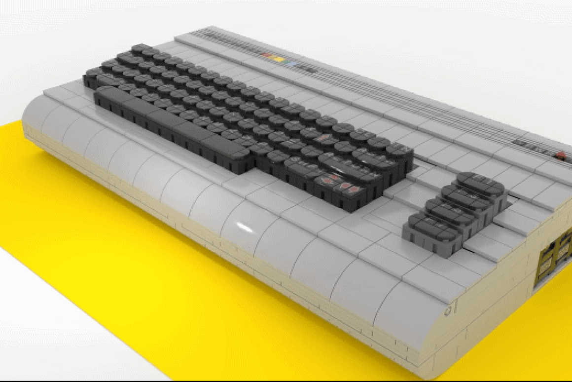 A Commodore 64 made of Lego is surely the answer to all our