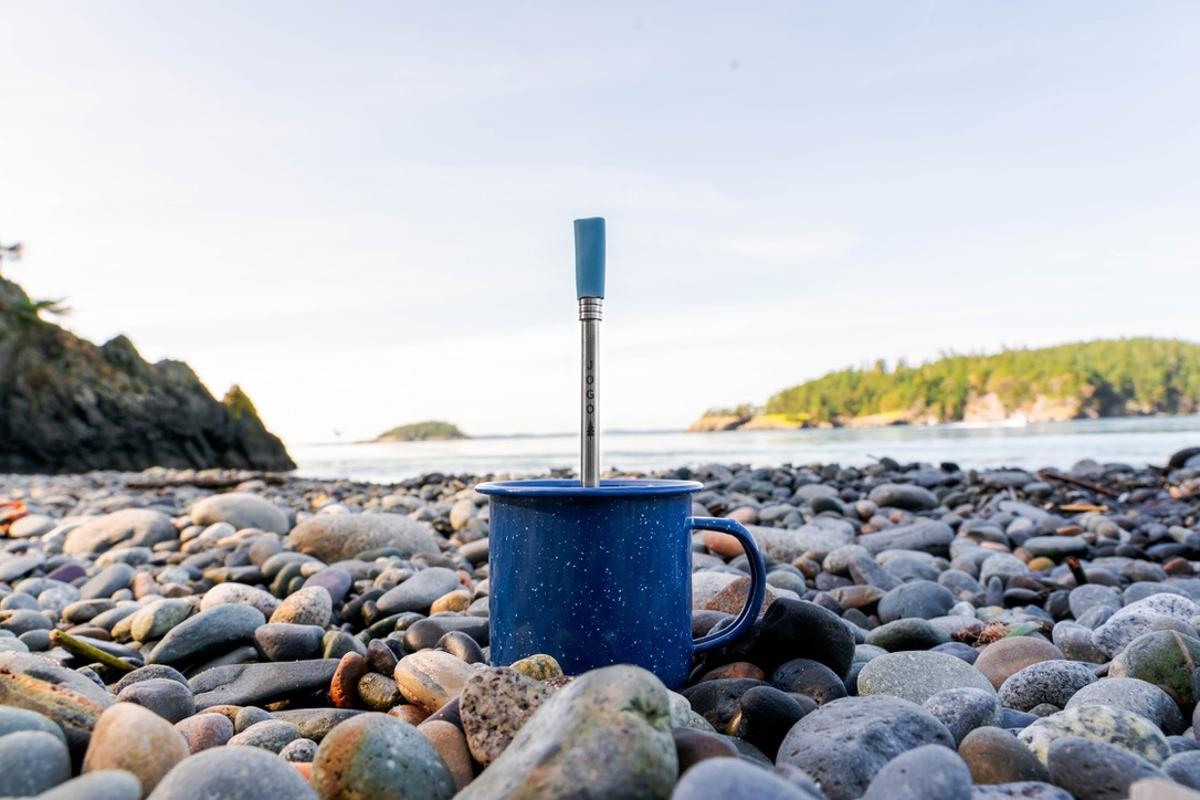 The JoGo straw aims to be an ultralight, low-hassle way of enjoying coffee anywhere