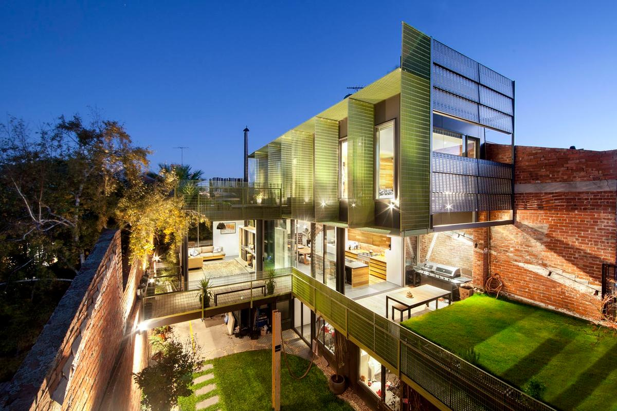 House in a Warehouse, by architectural firm Splinter Society, is located in Hawthorne East, Victoria (Photo: Brilliant Creek)