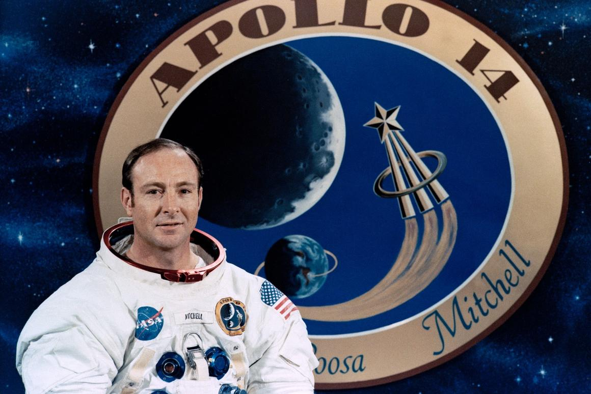 Mitchell was the Lunar Module Pilot of the LEM Antares on the Apollo 14 mission in 1971