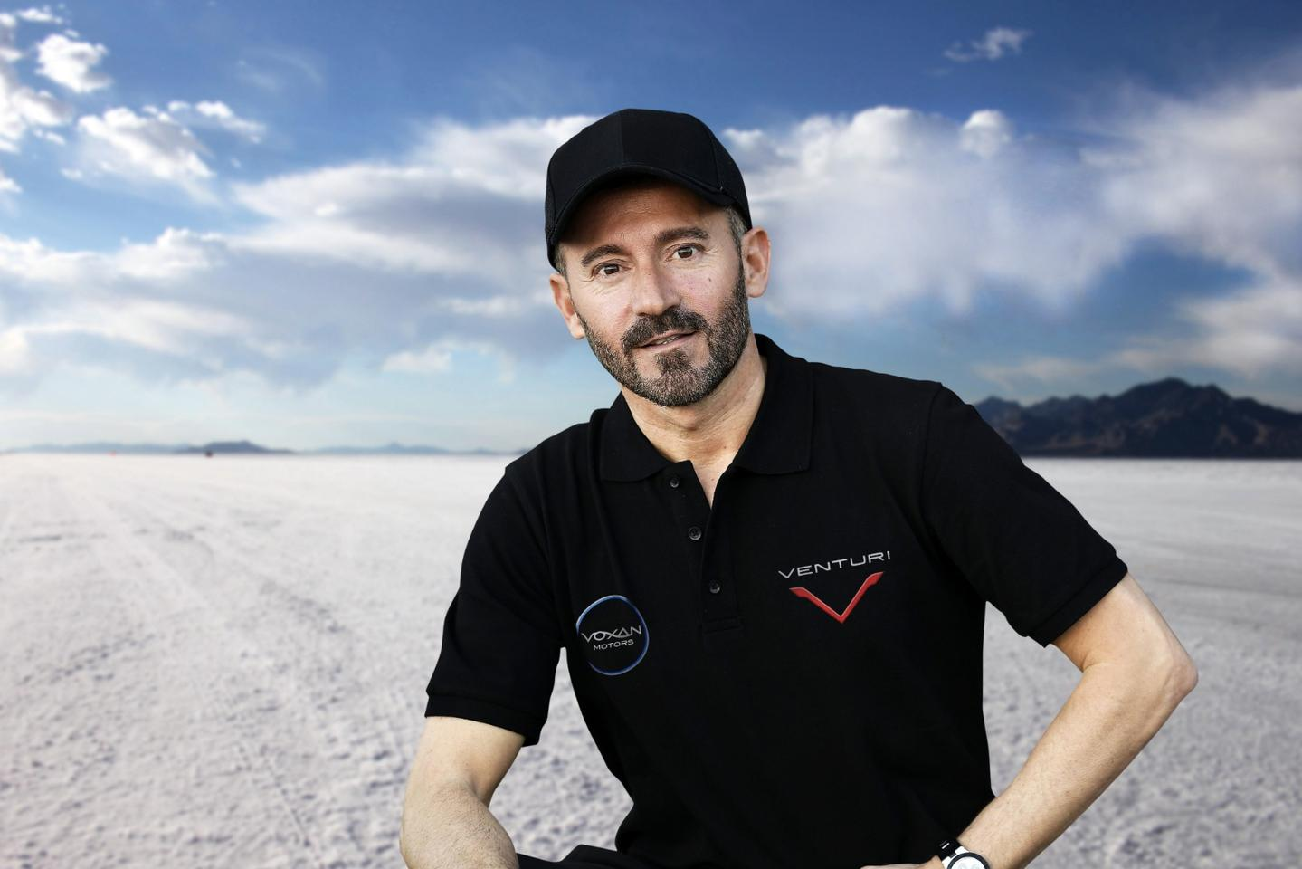 "Max ""The Emperor"" Biaggi will pilot the Voxan Wattman in its land speed record attempt"