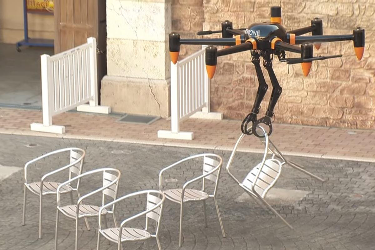 Grab a seat – the PD6B-AW-ARM in action