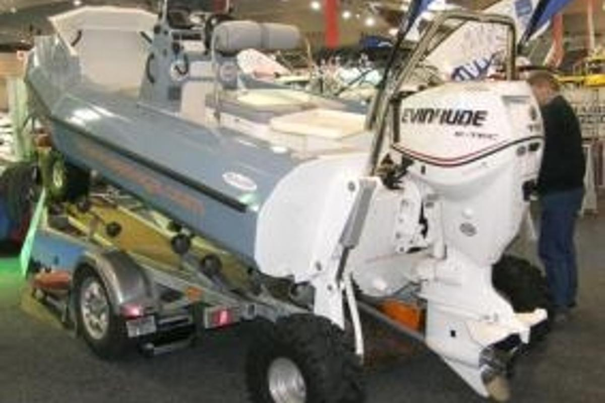 The Sealegs amphibious boat