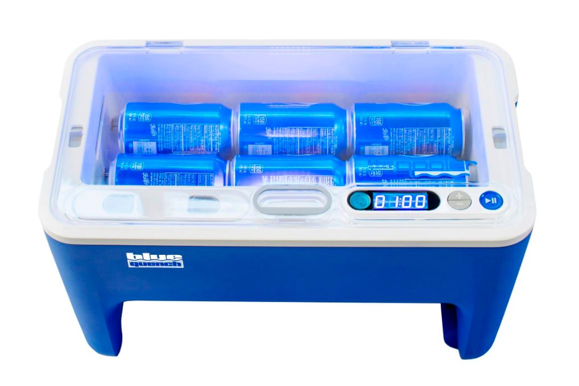 Qooler can chill up to six cans at once