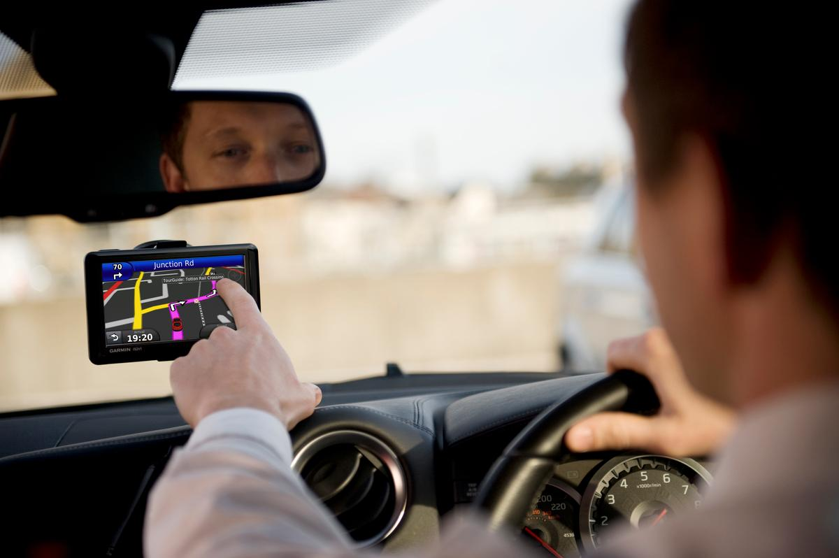 The UK's Network Rail and Garmin have developed a special sat nav app that causes the navigation device to sound a train-like whistle when the driver approaches a level crossing
