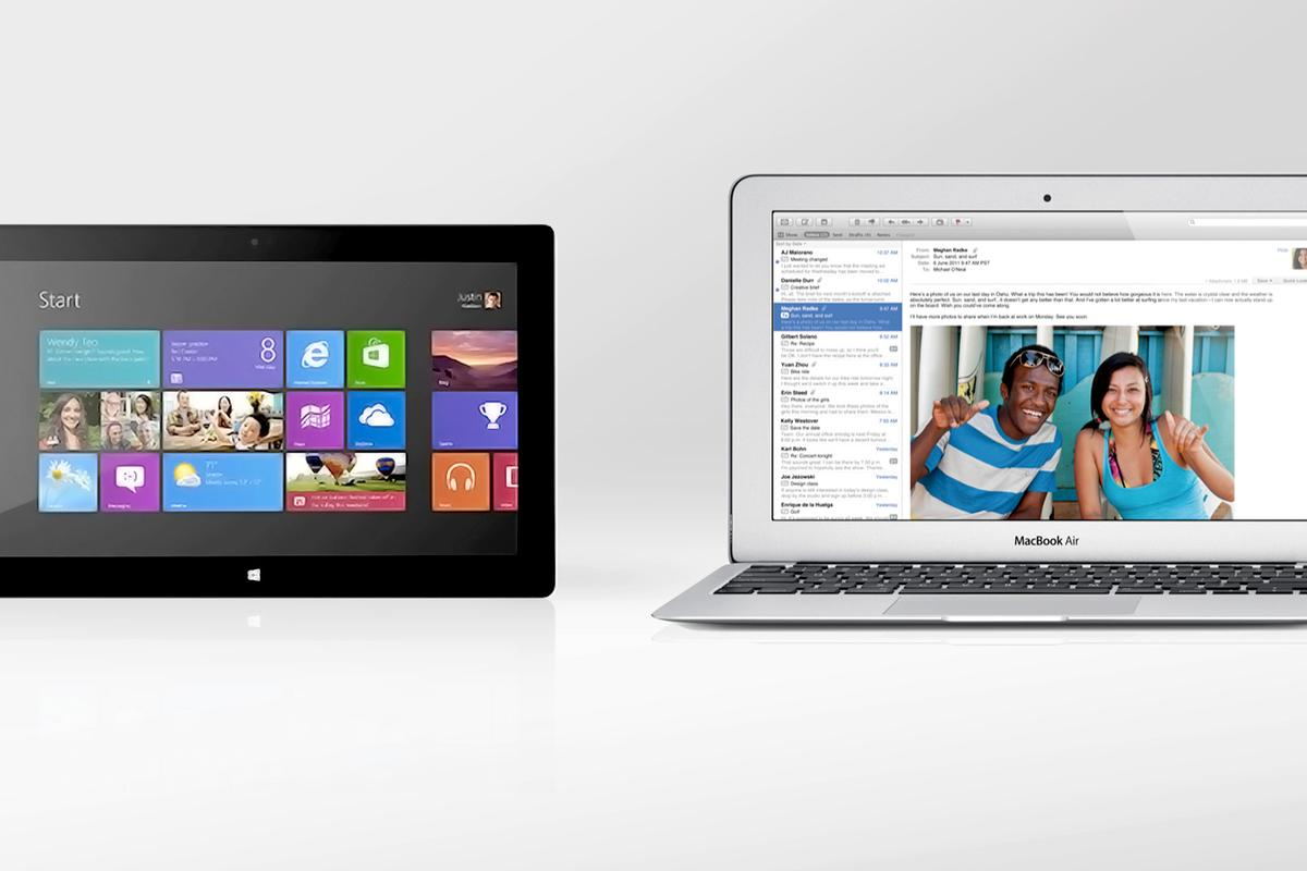 We compare the specs – and other features – of the Microsoft Surface Pro and MacBook Air
