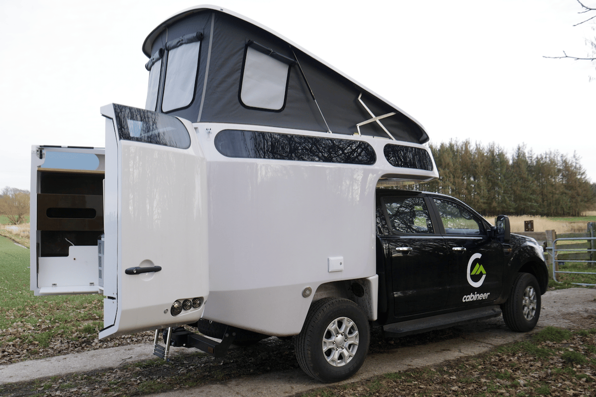 The Cabineer truck camper was inspired by the famous Pan-American Highway