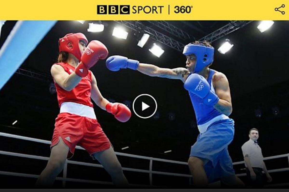 Events such as boxingand basketball will be available to view in live 360-degree video