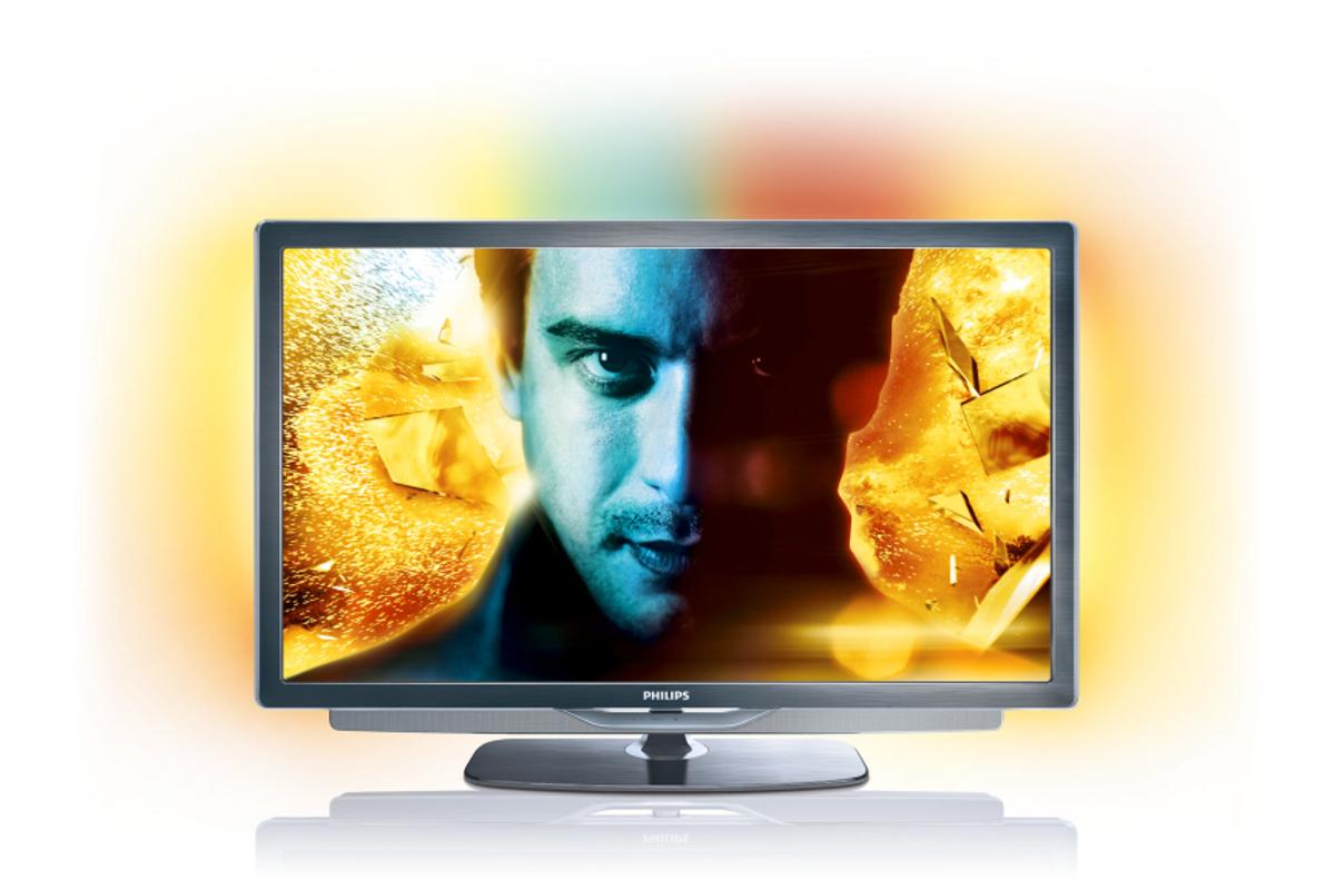 The top-of-the-line 9000 Series of LED TV's from Philips with Ambilight spectra 3