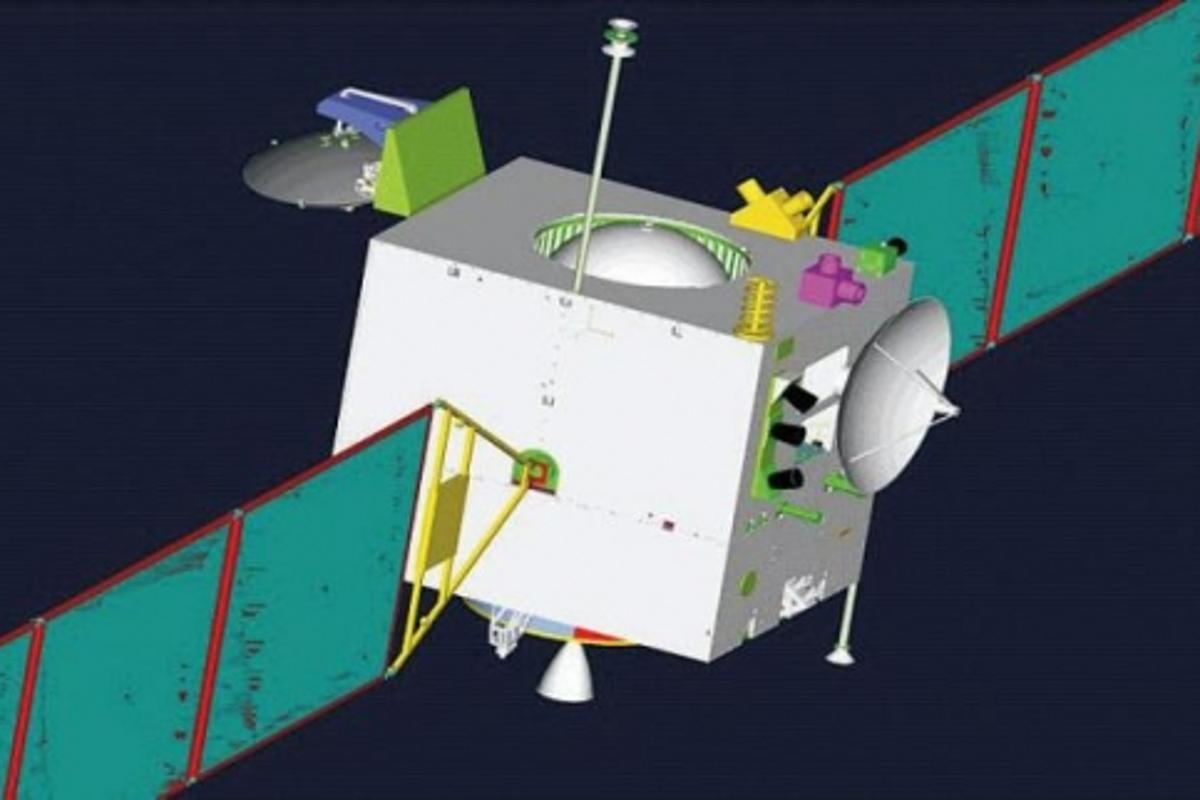 Sketch of Chang'e 1Image: NASA (http://nssdc.gsfc.nasa.gov/)