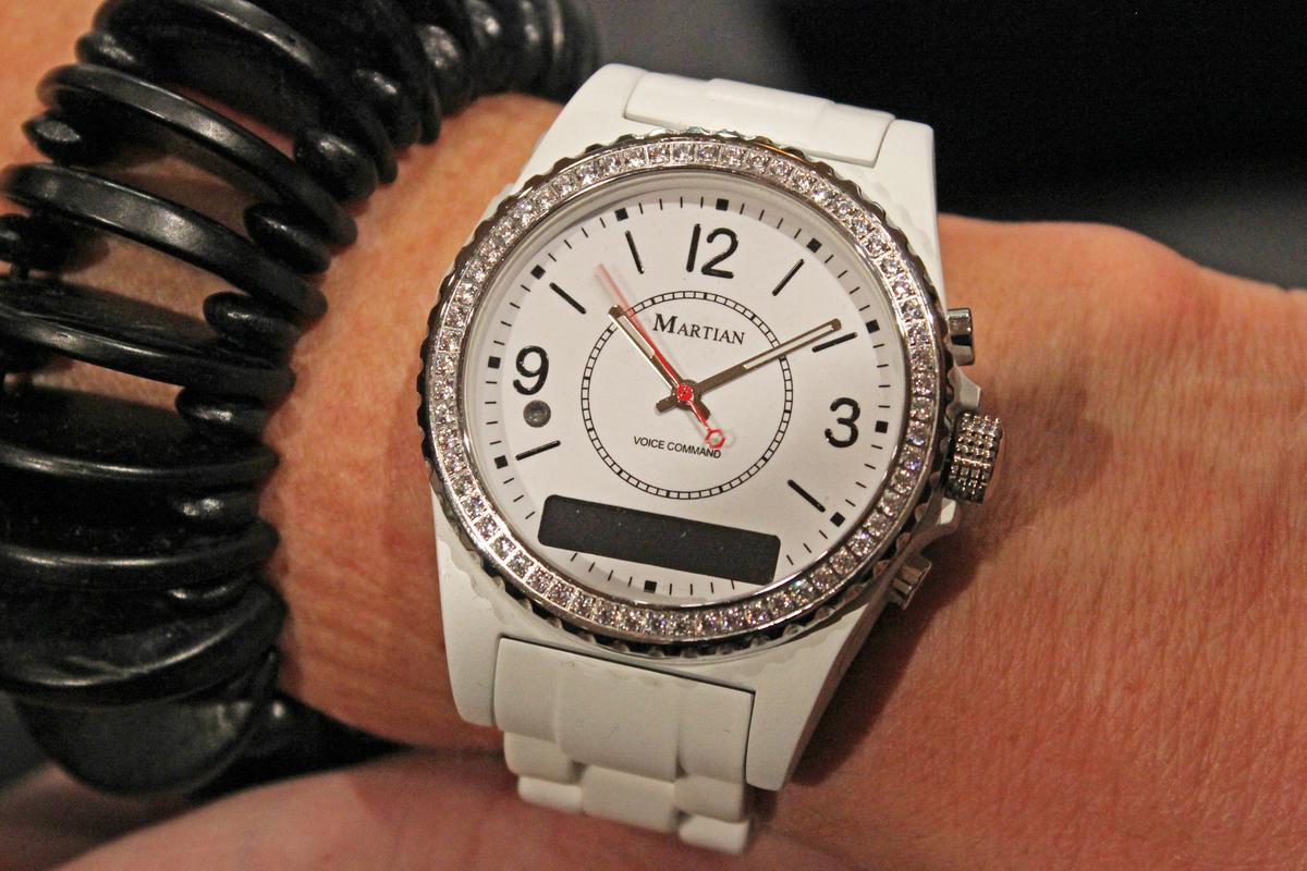 Martian's updated voice control watches will ship in a variety of styles, with different looks aimed at both men and women (Photo: Will Shanklin/Gizmag.com)