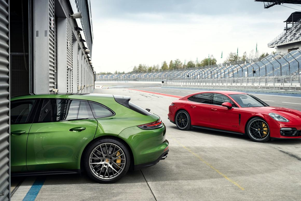 Porsche Panamera GTS range: sedan and Sport Turismo wagon are a pair of comfortable, 180-mph autobahn eaters