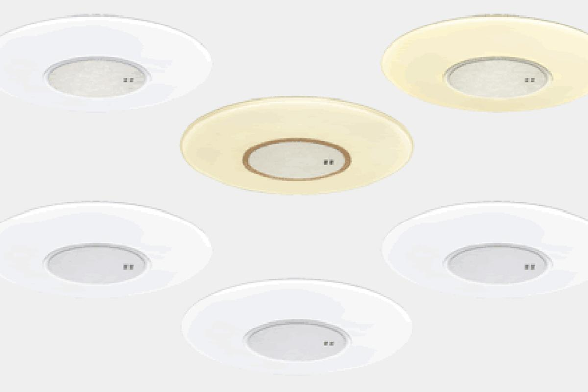 The six new models of LED ceiling lights from Sharp