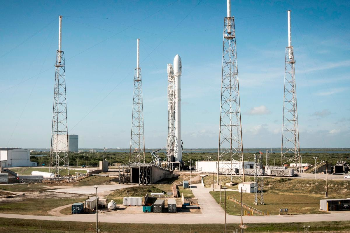 The explosion involved a Falcon 9 rocket similar to this one used to launch Orbcomm 2