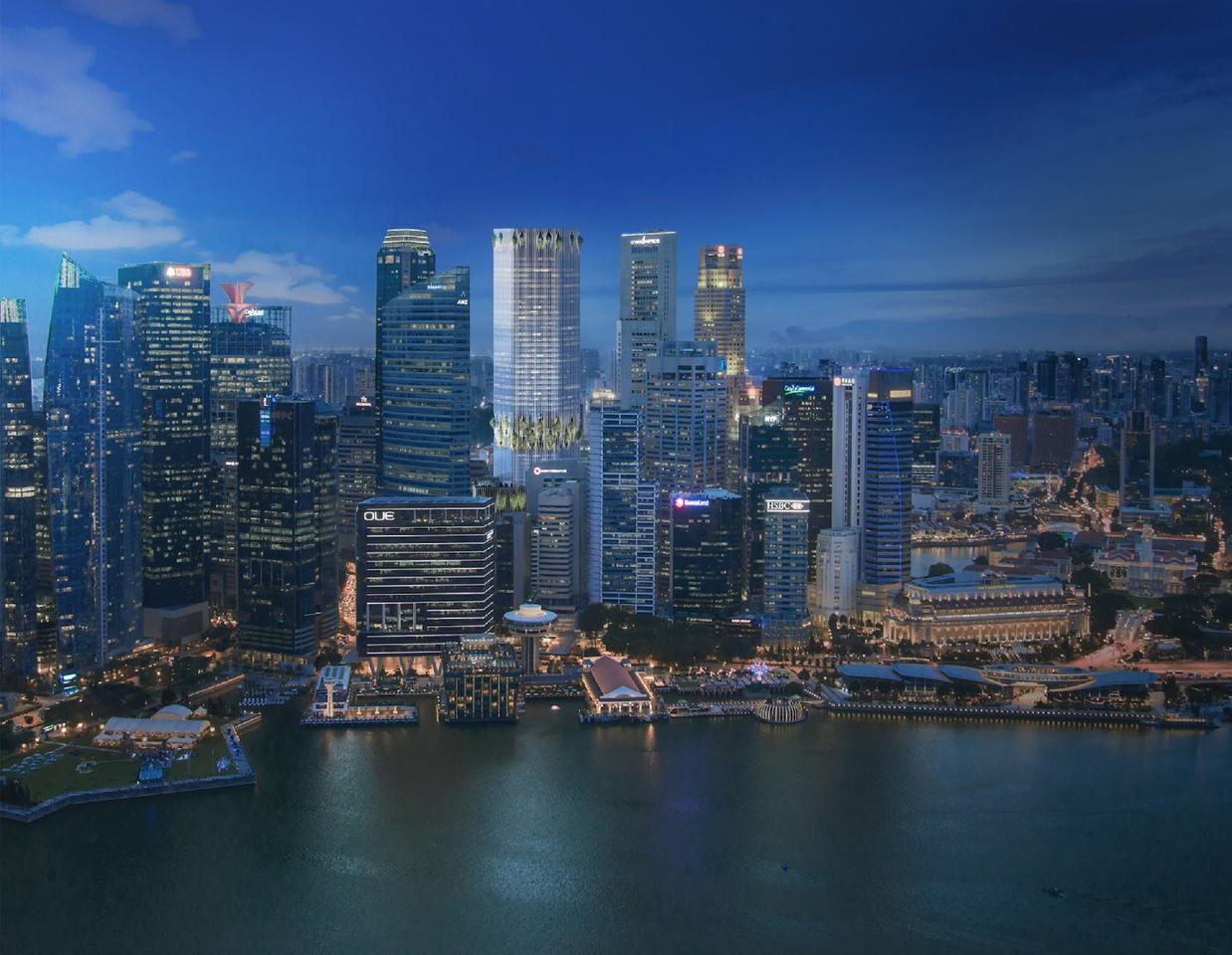 The skyscraper will be located in Singapore's Central Business District