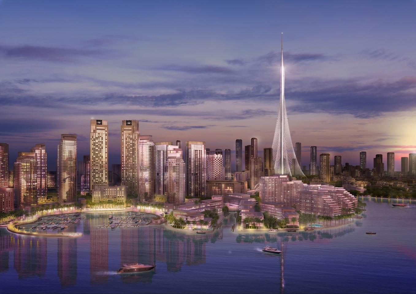 The tower will reportedly reach a height of over 828 m (2,716 ft)