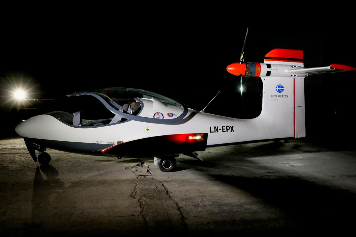 The P2 Xcursion is designed to be an affordable electric small aircraft