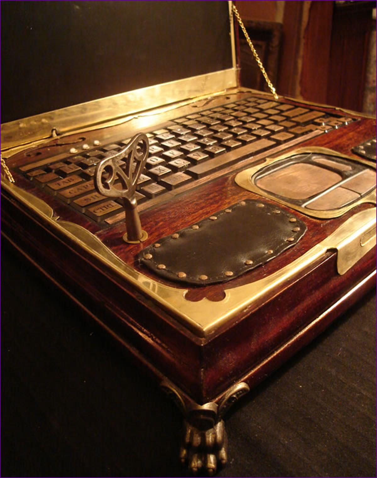 """Richard """"Datamancer"""" Nagy has recently announced that he's ready to start building and selling Steampunk Laptops (Photo: Richard Nagy)"""