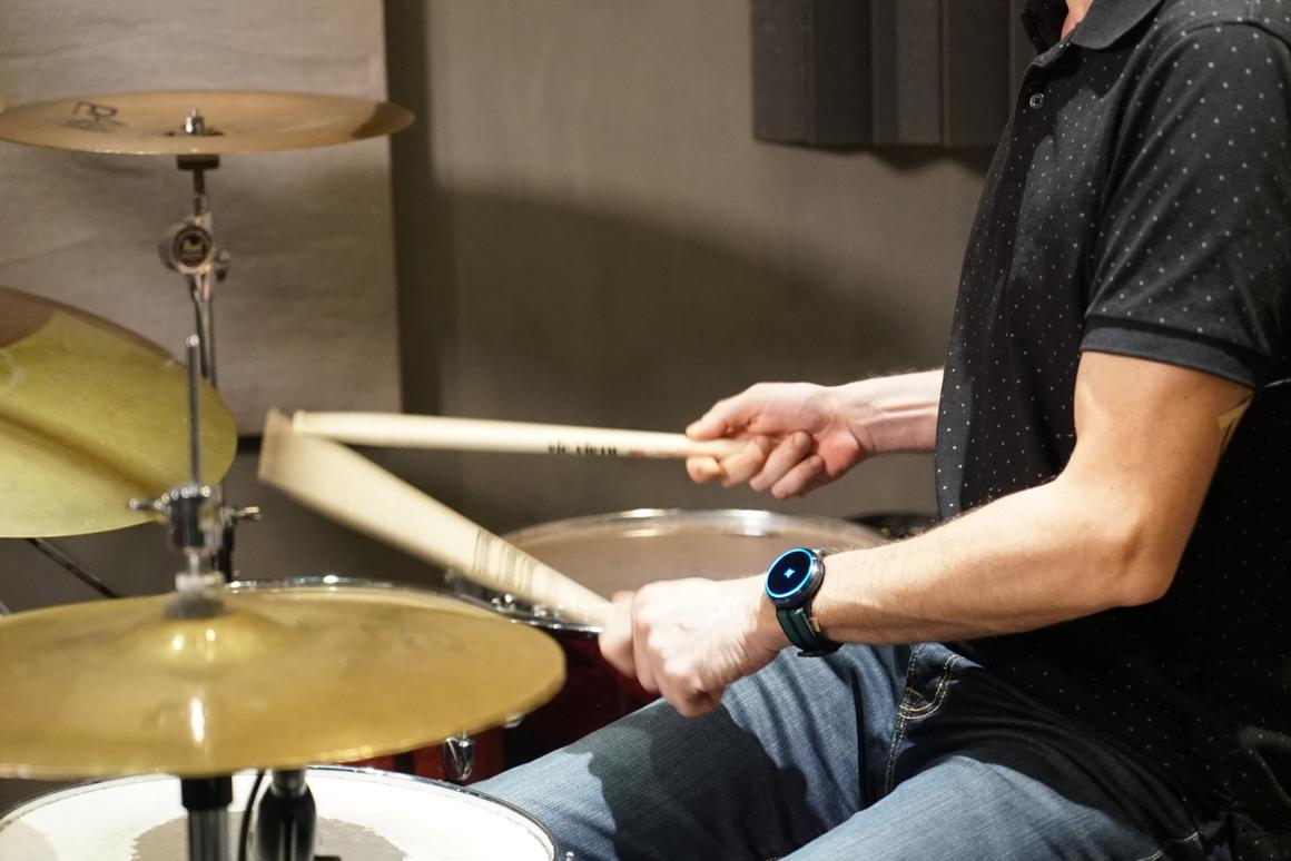 The Core 4-in-1 wearable can help drummers keep perfect time