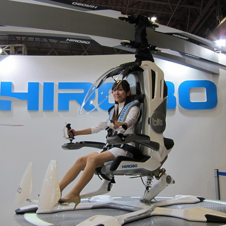 Mini one man helicopters