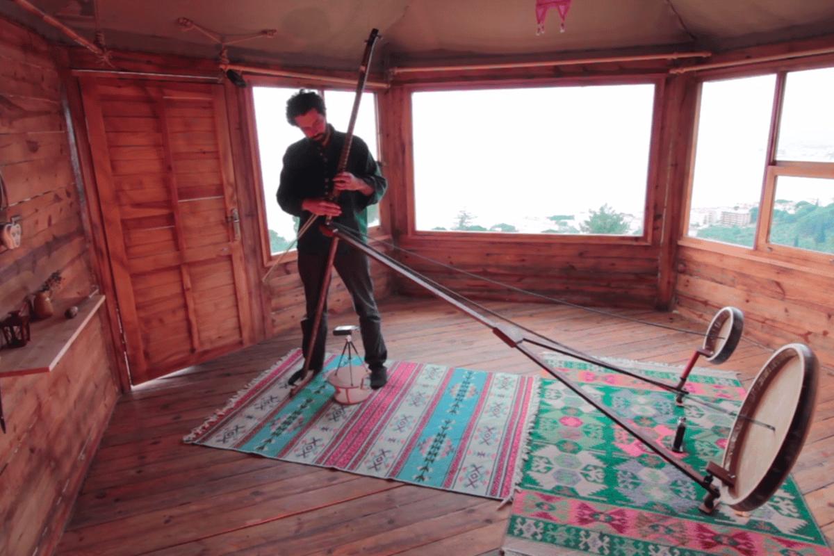Gorkem Sen's extraordinary Yaybahar: an acoustic instrument that sounds like a digital synth