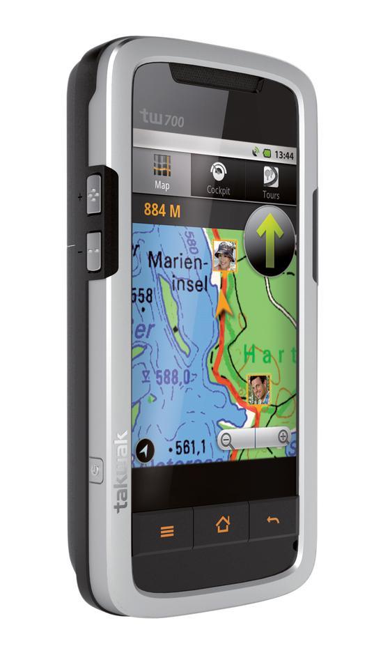 The Tak Wak tw700 GPS-smartphone-radio-buddy tracking system.